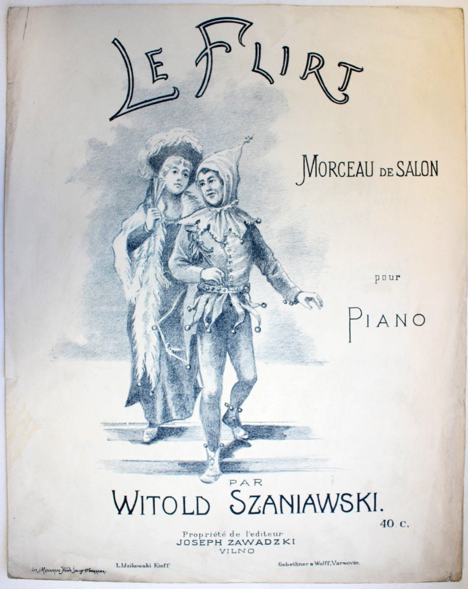 W. Szaniawski. Le Flirt [leidimo data neaiški]