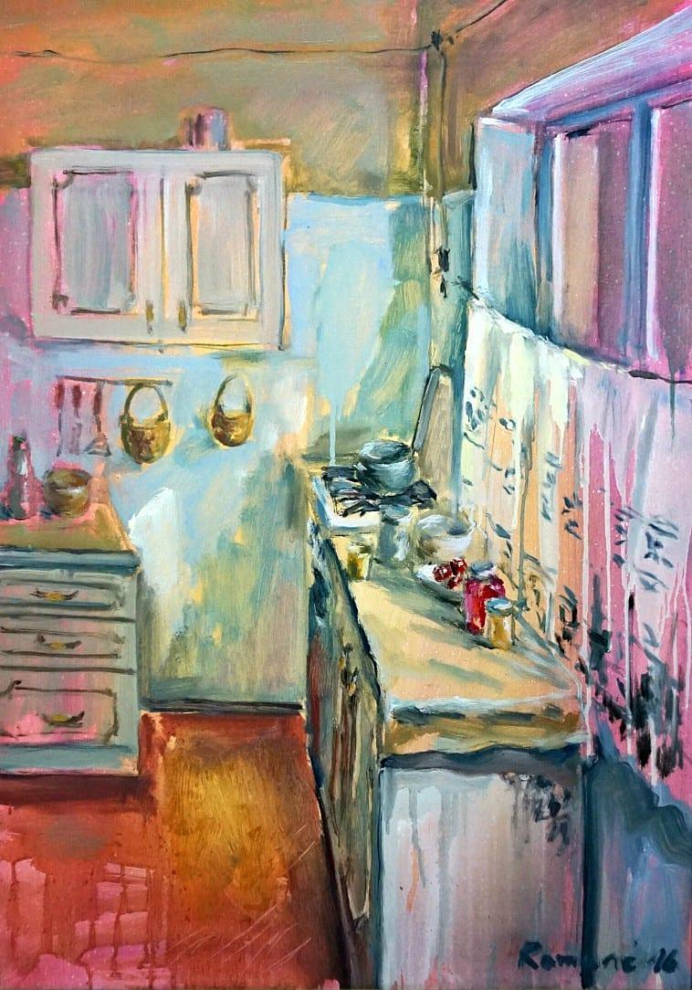 Rožinė virtuvė