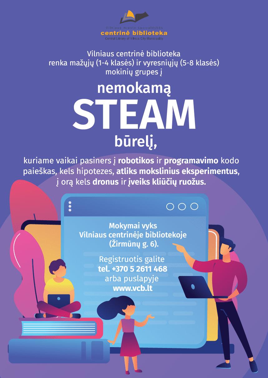 Steam-burelis