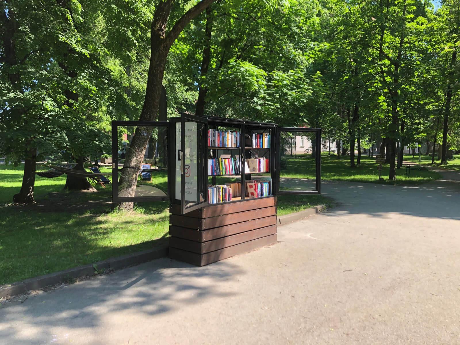 Tech Park vasaros skaitykla