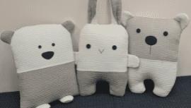 Žaislai-pagalvėlės